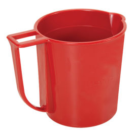 FANN Caneca Plastica 1000ML MOD.202  MUD CUP, MEASURING 1000ml PLASTIC – RED