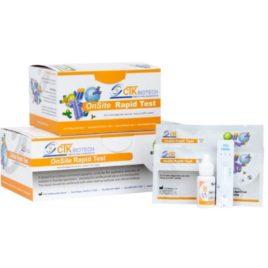 Teste Rápido para HEPATITE B HBsAg caixa com 30 unidades