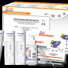 Teste Rápido Chikungunya IGM COMBO 30 TT