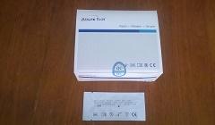 Teste de Cocaína (COC) na urina com  caixa com 50 tiras Validade 09\2019