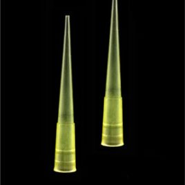 Ponteira Amarela TIPO GILSON 0-200UL Pacote com 1000 Unidades