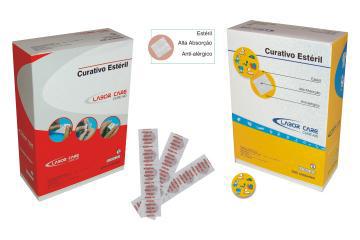 BLOOD STOPPER Bandagem Curativo Adulto Redondo 25mm – com 500 peças