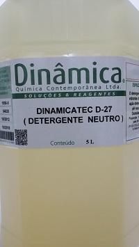 Detergente Neutro para Laboratório  DINAMICATEC D-27  1000ml