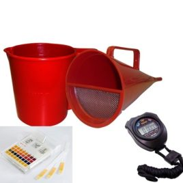 Kit de Teste de Medição de  Viscosidade