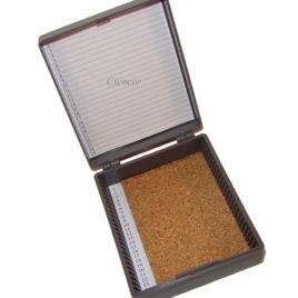 Caixa  Plástica Porta 25 Lâminas de Microscopia
