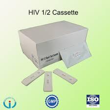 Teste Rápido de HIV 1 e 2  RAPID TEST  caixa com 20 Testes