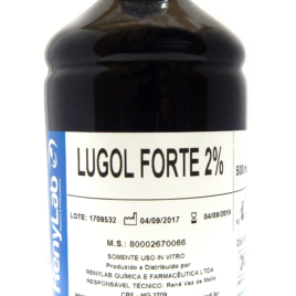 LUGOL FORTE 2%  FRASCO 1000ML