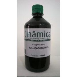 LUGOL (IODO A 5%) INORGÂNICO FRASCO 1000ML
