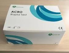 Teste de Gravidez  HCG em Tiras 25 UI  caixa com 50 Unidades